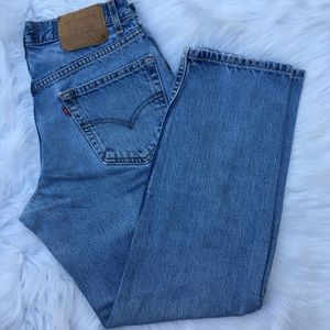 Vintage 550 Levi's mom jeans